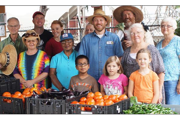 Harvest Day at the Kane Street Garden